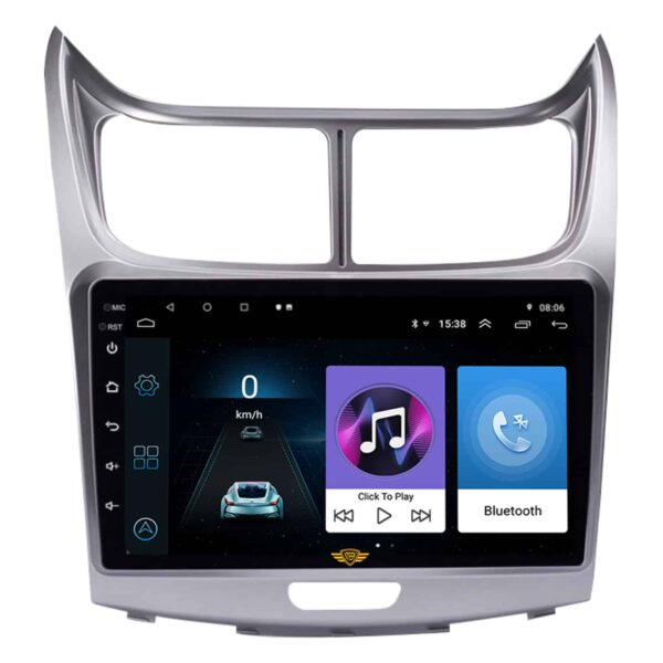 """Ateen Chevrolet Sail Car Music System with Navigation Touch Screen 9""""inch Display Android Player / Stereo"""