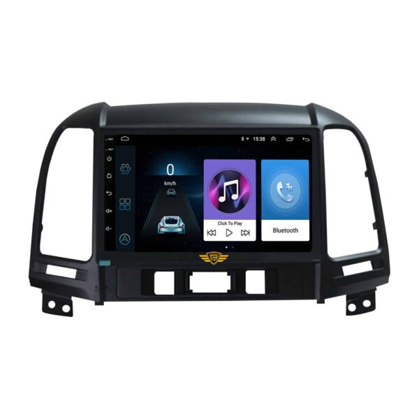Ateen Double-Din Car Android Music System For Hyundai Old Santa Fe