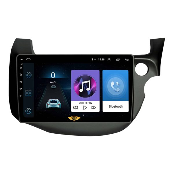 "Ateen Old Honda Jazz Car Music System with Navigation Touch Screen 9""inch Display Android Player / Stereo"