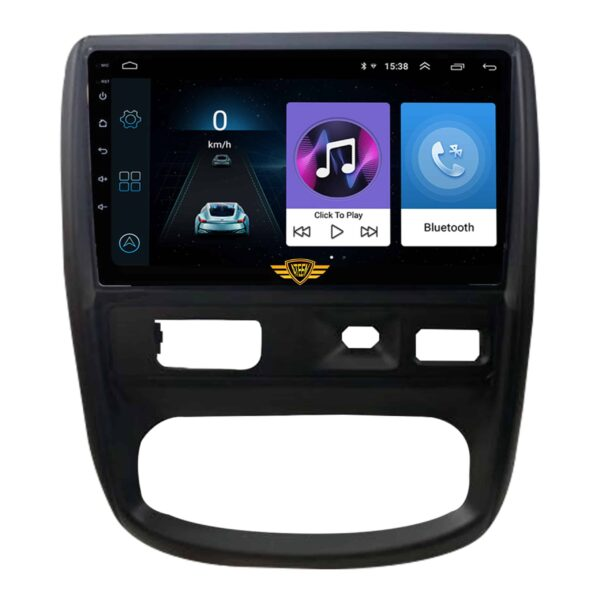 """Ateen Renault Old Duster Car Music System with Navigation Touch Screen 9""""inch Display Android Player / Stereo"""