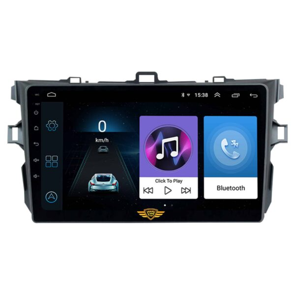 """Ateen Toyota Altis 2008 Car Music System with Navigation Touch Screen 9""""inch Display Android Player / Stereo"""