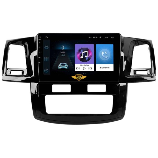"Ateen Toyota Fortuner Type-1/Type-2 Car Music System with Navigation Touch Screen 9""inch Display Android Player / Stereo"