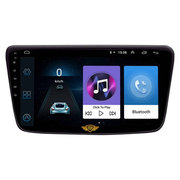 """Ateen Toyota Glanza Car Music System with Navigation Touch Screen 9""""inch Display Android Player / Stereo"""