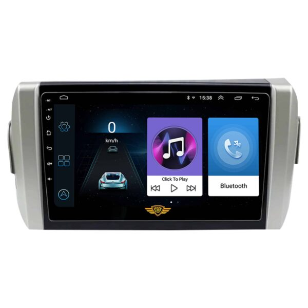 """Ateen Toyota Innova Crysta Car Music System with Navigation Touch Screen 9""""inch Display Android Player / Stereo"""