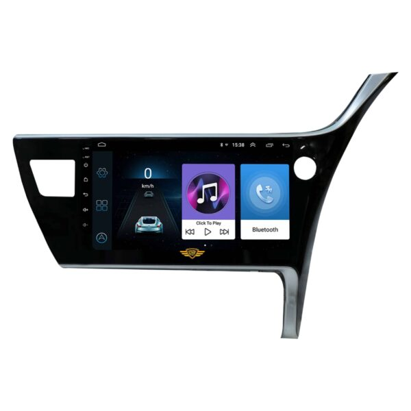 """Ateen Toyota New Altis Car Music System with Navigation Touch Screen 9""""inch Display Android Player / Stereo"""